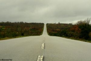 The never-ending road by Korina742
