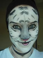 White Tiger Makeup2 by nelphaba