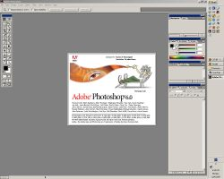 Adobe Photoshop 6 Splash by Jackster3000