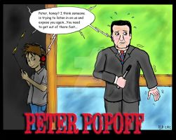 False Preacher: Peter Popoff by ArtNGame215