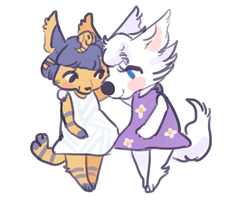 girlfriends by wumbreon