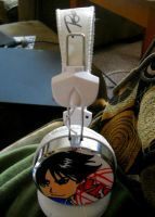 Headphones --Roy Mustang, signed-- by loveorlife721