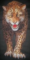 Leopard. Cross Stitch by ouraion