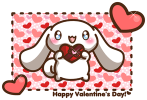 Happy Valentine's Day from Cinnamoroll! by Crystal-Moore