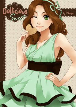 Dollicious sweet cover by meago