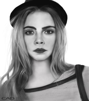 Black and white study by ConnorDiver