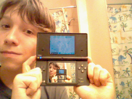 Me and my New DSi by mikeinthehouse