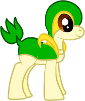 Free Request: MLP Snivy by AlenaChen