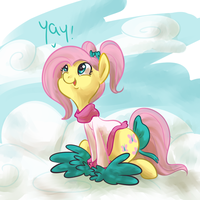 Fluttercheer by PonyGoggles