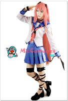 Angel Beats Yui Cosplay by miccostumes