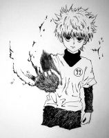 No. 99: Killua Zoldyck by Imbadoodles