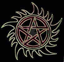 supernatural tattoo 2 by Marky306