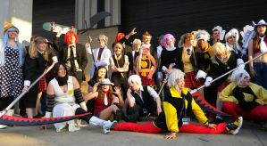 Soul Eater - Weapon Meister Academy - ACen 2013 by EndOfGreatness