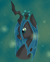 Queen Chrysalis by NekonX103