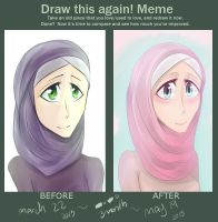 Before And After - Smile by Littlenekosfan