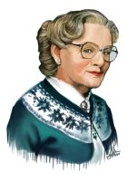 Mrs. Doubtfire by Hazingga