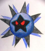 Epic Dark Star Drawing by Rotommowtom