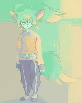 FEI RUNE IS ALSO A FURRY by haemorrhoid