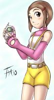 Kari - Sketch 17 by Fenril-Huayra