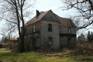Old House on O Niles Ferry - March 2014 by Crystal-Marine