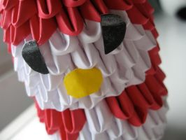 3d origami My Melody 2 by OrigamiGenius