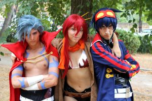 Gurren Lagann Cosplay by RedAceCosplay