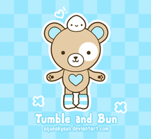 Tumble and Bun by SqueakyToybox