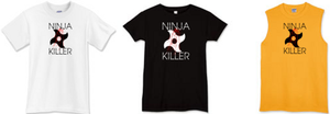 NINJA KILLER T-Shirt Design by TheNotoriousSDS