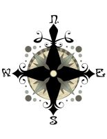 Compass Rose by new-moon-night