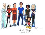 Finn's Team by kt-grace