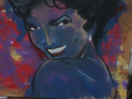dorothy dandridge (blue beauty) by fredjace