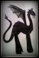 Dragon of Darkness by MisakiAnimeLuver