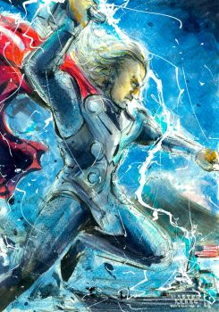 THOR IN JAPAN by aoasunfire8