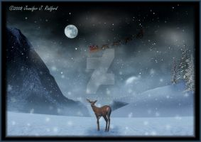 ...One of Santa's Reindeer by Jenna-Rose
