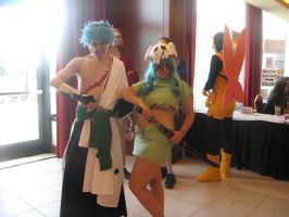 AI '10 - Grimmjow and Nel by hylian-dragoness