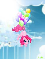 pinkie pie high in the sky by speckledmindphoenix
