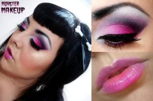 Pink Flamingo by munstermakeup