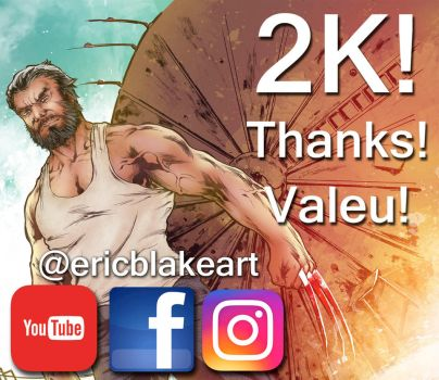 2K! Many thanks to all! by E-Blake