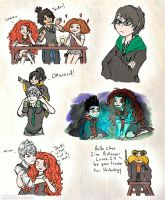 Harry Potter AU:Headcanon Dump pt 2 by Kiome-Yasha