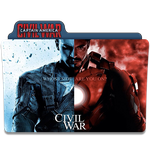 Captain America - Civil War Folder Icon by gterritory