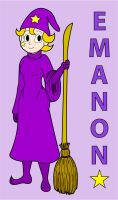 Emanon the Witch by KingMonster