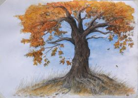 The First Tree by dannieborg