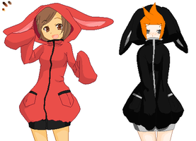 ::Collab:: -Bunny Hoods- by 07181997