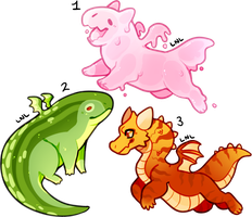 Small Dragon Friend Adopts [CLOSED] by LastNight-Light
