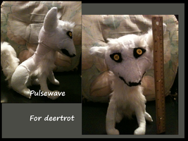Plushie for Deertrot by Wolfvids