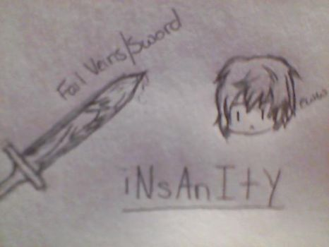 iNsAnItY, Eww... Sword. by LatviaAdvice