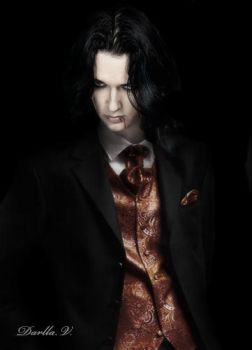 Jyrki. Beautiful Vampire by VampireDarlla