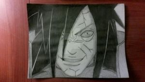 Crazed Madara Uchiha by Murkicide