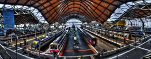 Southern Cross Station by makobsan