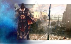 Assassin's Creed Wallpaper by LadyTeefStrife